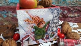 короб-підсвічник ′Christmas holidays′