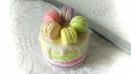  Десертная ложка с декором 