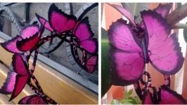 Ободок из фоамирана «Бабочки»