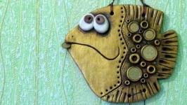Панно ′Денежная рыба′