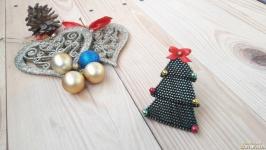 Брошь ′Новогодняя елка′