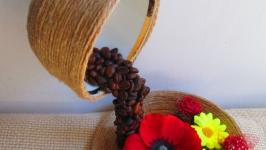 Летящая, парящая чашка, топиарий-удивительный подарок, милый сувенир