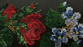 Клатч Троянда, фіалки