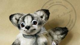 Песец. Арктический лисёнок-тедди