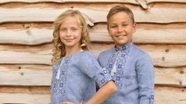 Комплект детских вышиванок ДМ191-273 и ДП191-273