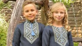 Комплект детских вышиванок ДМ181-295 и ДП18-295