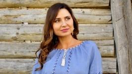 Украинское платье-вышиванка П11-273