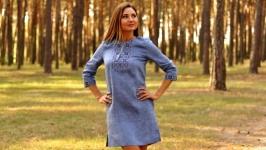 Женское платье-вышиванка П0719-273