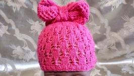 Детская шапочка для малышки