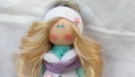 Интерьерная кукла Бусинка
