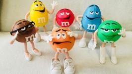 коллекция игрушечных конфеток ММДЕМС из фоамирана