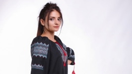 Вышитое платье для женщины «Галичанка»