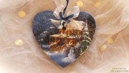 Новогодняя подвеска «Зимний вечер»