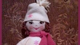 Интерьерная кукла, ручная работа
