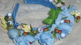 Обруч ′Голубая рапсодия′