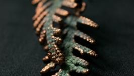 Серьги ′Туя′ (зеленые)