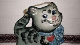 Котик з бантом