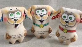 Смешные кофейные собачки