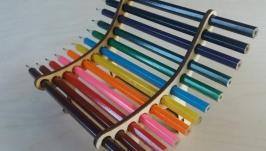 Подставка для карандашей ′Лавочка′