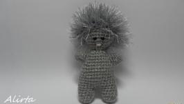 Вязаная игрушка Пупс - Ёжик, подарок, сувенир, ручная работа