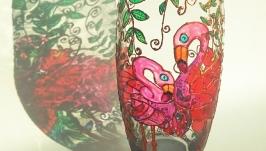 Ваза ′Рожеві фламінго′