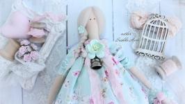 Кукла тильда ангел ′домашнего уюта′ Отличный подарок!
