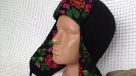 Валяная женская шапочка