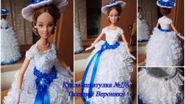 кукла шкатулка невеста №116 под заказ
