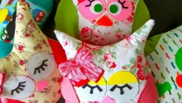 Інтер′єр подушки-іграшки ′Совушка′