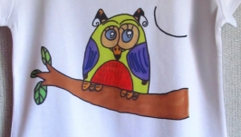 Футболка ′OWL′ by Daniel′s magic tales