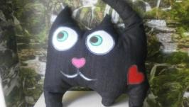 Подушка-игрушка ′Черный кот′