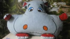 Подушка-игрушка ′Бегемотик′