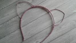 Обруч ′Розові вушка′