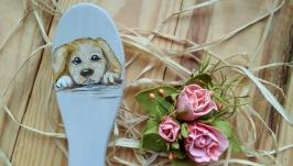 Расческа щенок