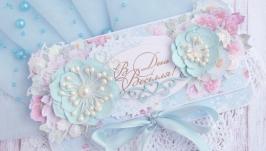 Конверт Весілля у рожевому саду