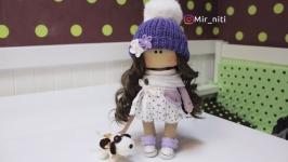 Куколка с собачкой
