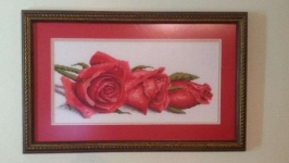 Картина′′;Красные розы′′