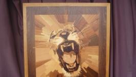 панно ′пасть льва′