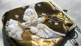 Сумочка ′Королевская птица′