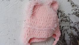 Зимова шапочка для немовлятка