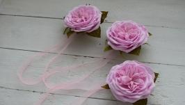 Подхваты для штор на магнитах с цветами