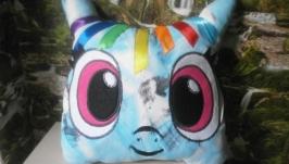 Подушка-игрушка ′Пони Рэйнбовдеж′