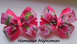 Резинки банти рожеві