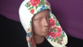 Валяная шапочка