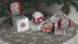 Идея для новогоднего декора