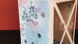 Новогодняя коробка для подарка