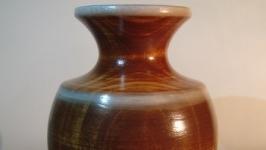 Деревянная вазочка ручной работы