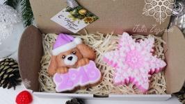 Новогодний набор мыла ′Розовый снег′