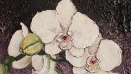 картина маслом ′Орхідея′ 30х40