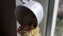 Цветочная чашка -«Парящая чашка»